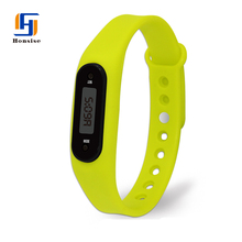 2017 Fashion Fitness Pedometer Watches Silicone Sport Wrist Bracelet Watch