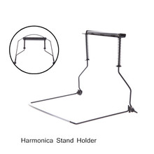 Harmonica Accessories Harmonica Stand Holder Bracket Neck Rack Adjustable Design for 10 Hole Harmonica
