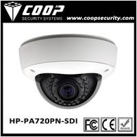 SDI Technology Webcam Camera Analog 1MP HD-SDI Camera Vandalproof Dome 720P HD SDI Camera