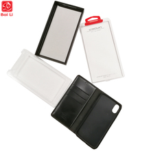 Cell phone case plastic packaging retail package boxes for recycling mobile phone cover packagin