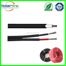 Solar Battery Panel System wire tuv 2pfg 1169 pv cable PV1-F 4mm 6mm 10mm pv wire