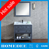 2016 oak solid wood bathroom vanity furniture design wholesale