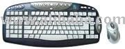 KBS-2548R Free bird Atype Keyboard + Mouse