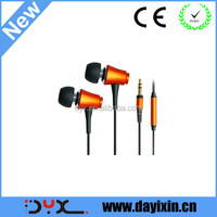 new reliable quality ear drops earphones from shenzhen earphone factory