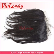 dropship VipLovely Hair Factory export good quality good price 13*4 silky hair lace closure 100% virgin human hair