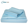 100% Cotton Microfiber Export Beautiful Solid Color Bed Sheet Sets