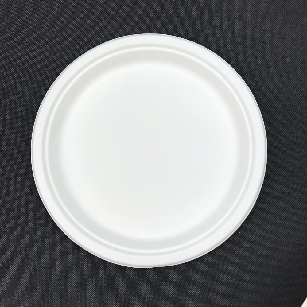 6.75 Inch Disposable Sugercane Plate
