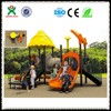 China factory Colorful outdoor new slide playground equipment QX-010A