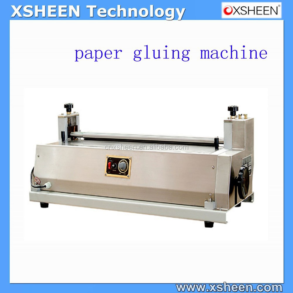 Hot and cold glue machine,box cover gluing machine,hot gluing machinery