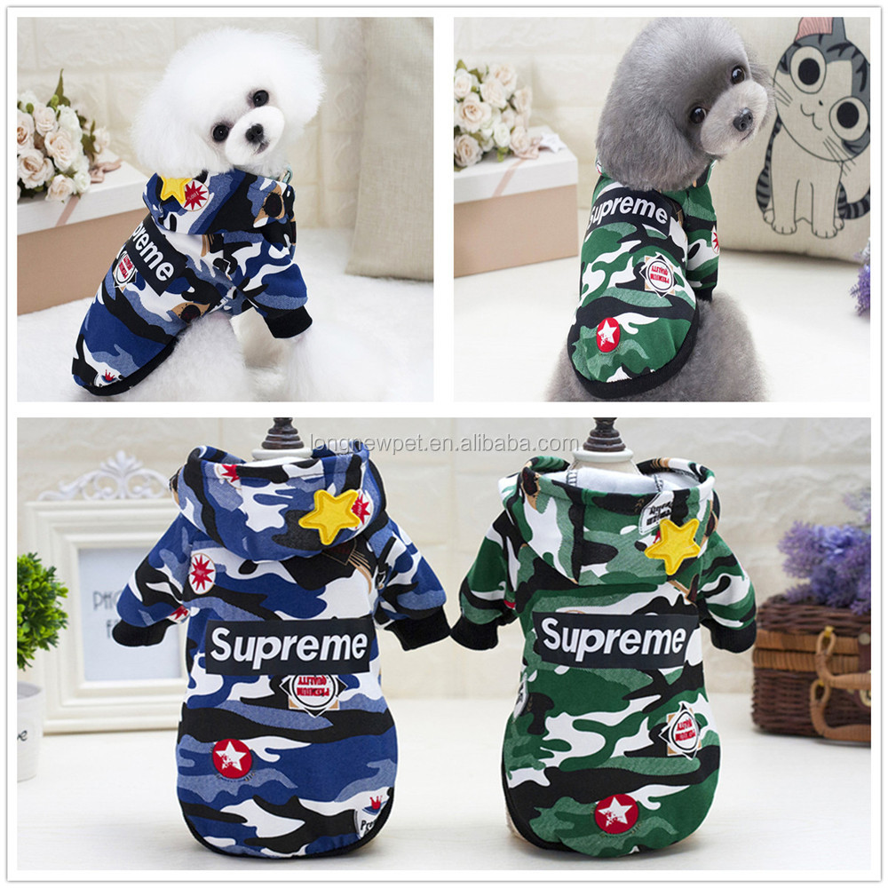 Hot Dog Camouflage Hoddie Clothes Warm for Dog Winter Pet Cat Dog Sweater Hoodies Jacket