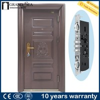 Factory directly Anti-theft arch shaped door india style