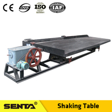 Low invest sand gold shaking table for river gold mining
