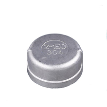 Stainless Steel 304 BSP Threaded Pipe End Screw Cap