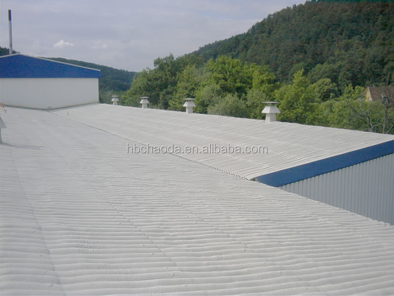 Heat resistant spray insulation reflective silicone roof paint