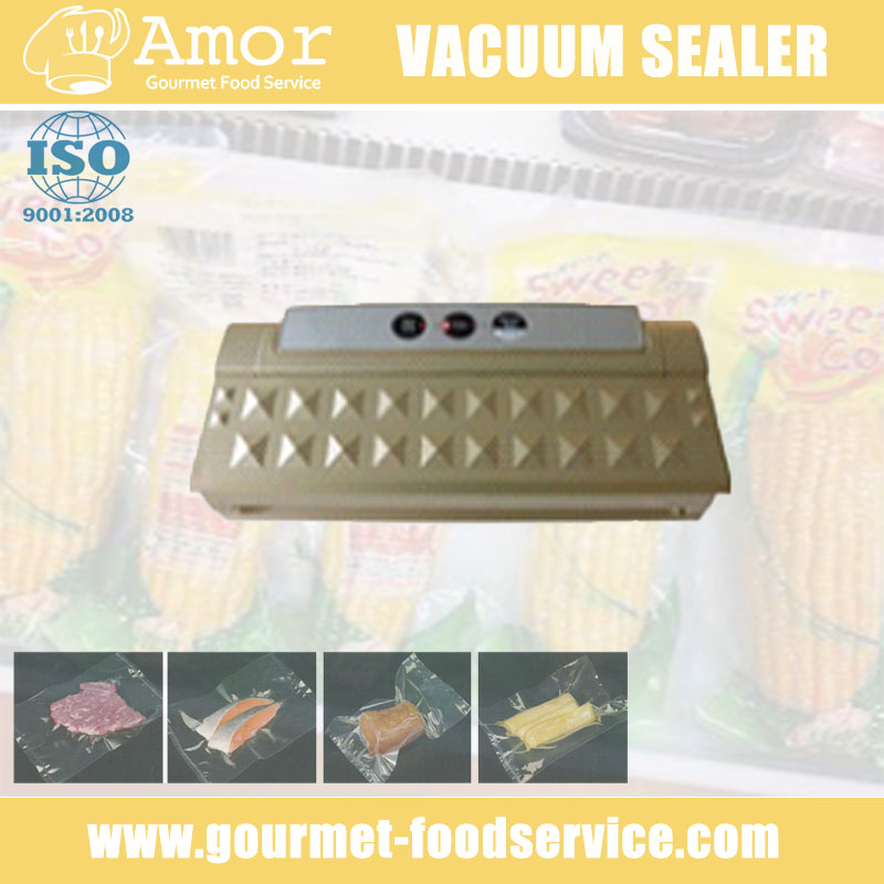Efficient new type induction food vacuum sealer for plastic bag