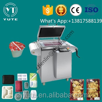 MAP-430A (Vertical) gas adjustment vacuum packaging machine widely for packing meat fish