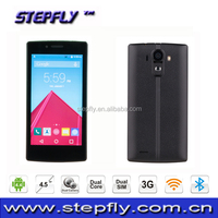 4.5 inch 3G Mobile Phone MTK6572 Dual Core Android 4.4 smart phone