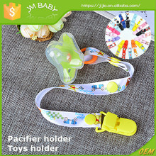 Fashion baby toys holder pacifier clip holding on pacifier