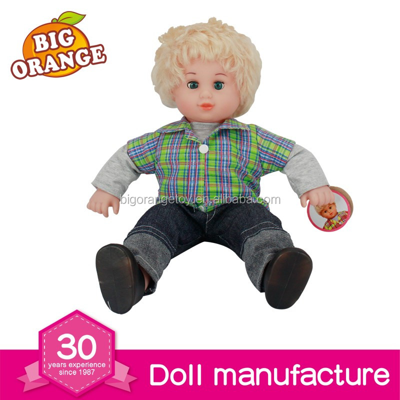 16 Inch Cheap Citi Toy Doll Baby Alive Doll Fulla Doll