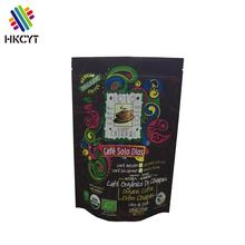 Wholesale stand up plastic sugar packing plastic bags custom printed bags for coffee