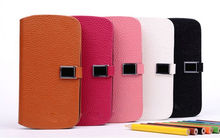 Luxury new design wallet case for galaxy s3 case flip leather case