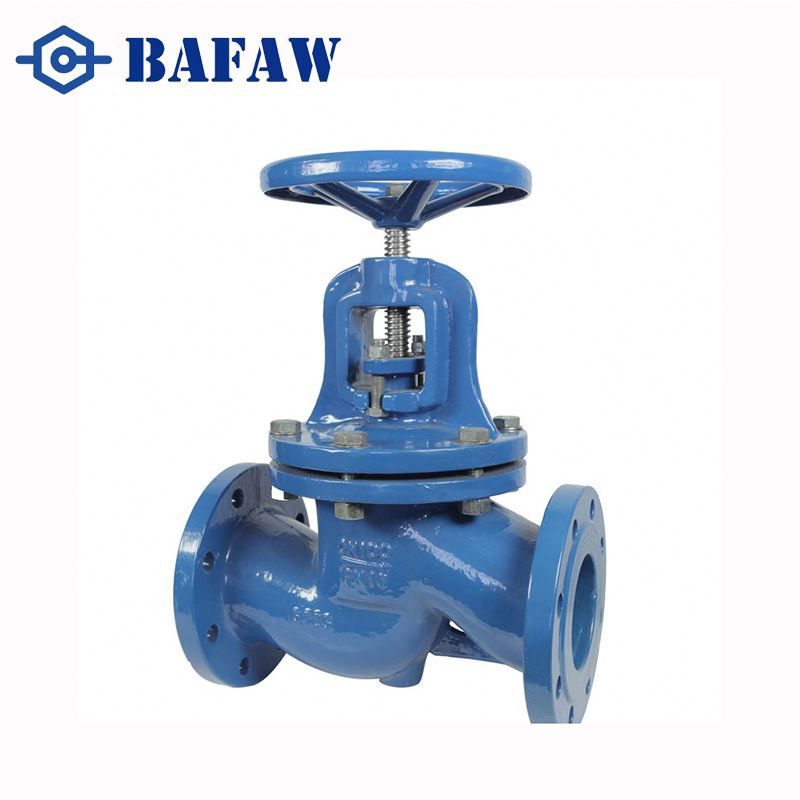 Advanced production technology high pressure gray cast iron flanged globe valve