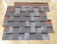 Import Grey Asphalt Shingles , Double Layer Roof Tiles