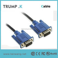 [TRUMP K for you ] Vga to vga cable used for lcd hdtv monitor