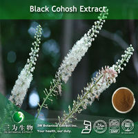100% Pure Black Cohosh Triterpene Glycosides Extract As Drug Use