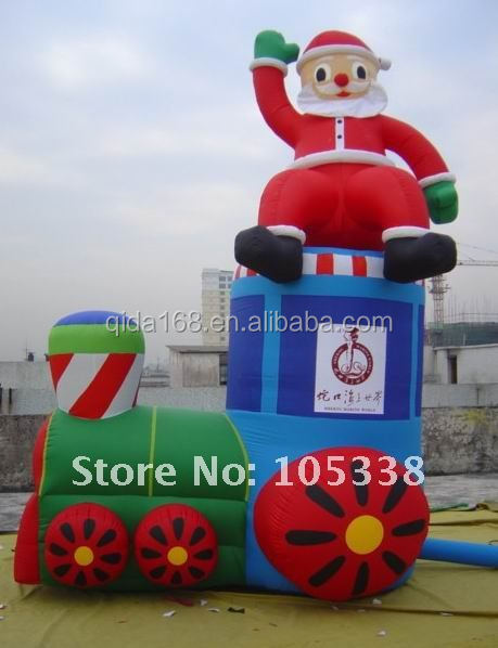 Guangqian Christmas inflatable tree cartoon ,inflatable snowman for outdoor promotion