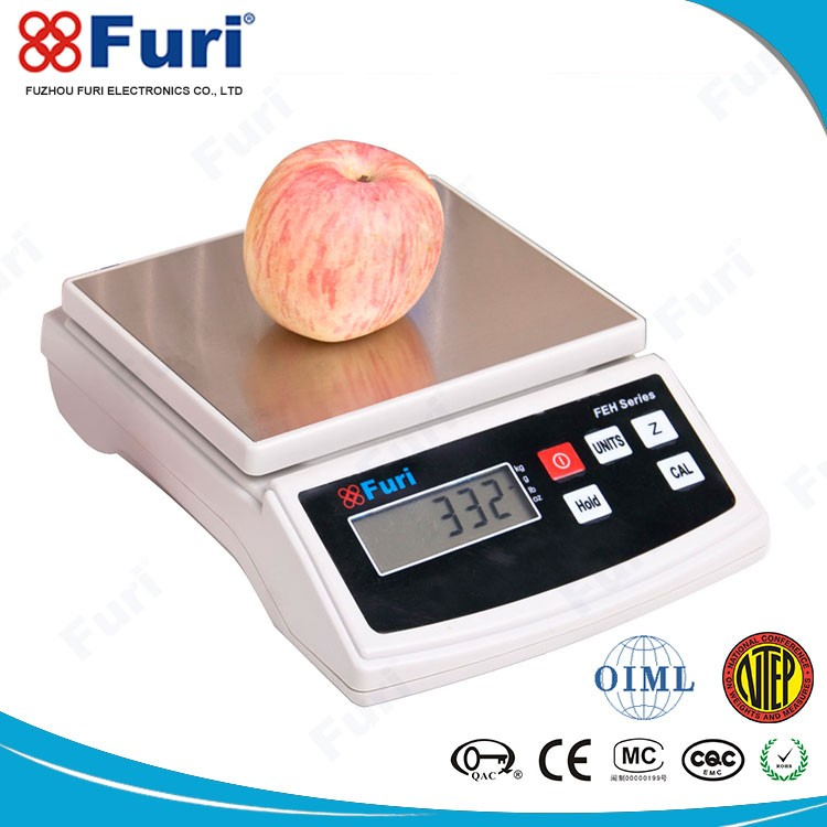 High Quality CE ROHS GB/T MC ISO9001 Approved 0.001G kitchen food weighing scale