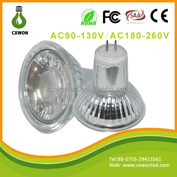 Hot sale spotlight fitting GU5.3 led spotlight 5w cob chip led lamp