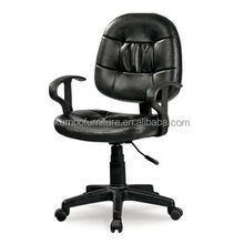 Ergonomic Office Chair with PVC Seat and Back, Seat Height Adjustable KBF W504