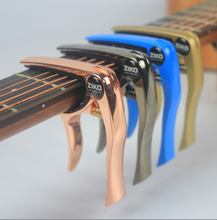 The best custom metal aluminum alloy guitar capo