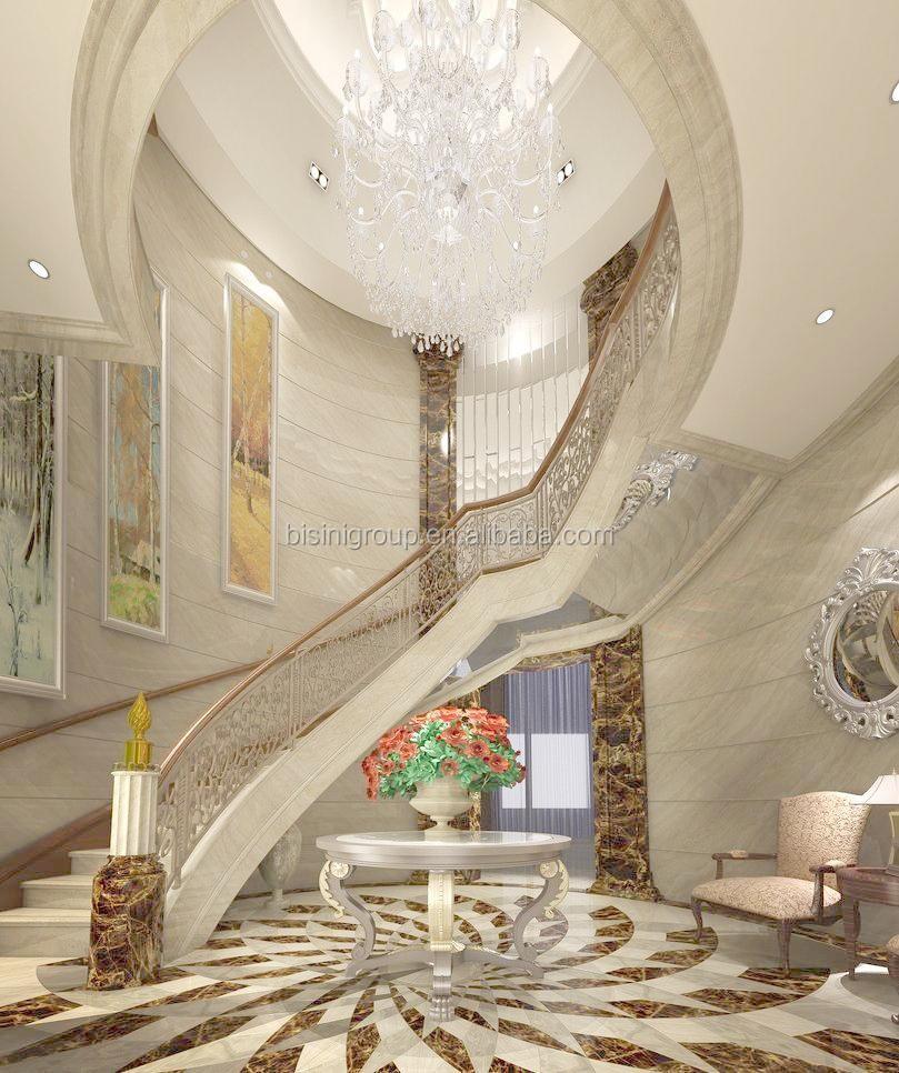 Retro vintage european style 3d rendering design for villa for A t design decoration co ltd