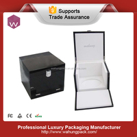 Perfume boxes manufacturers china, wooden black box for perfume (WH-0541)