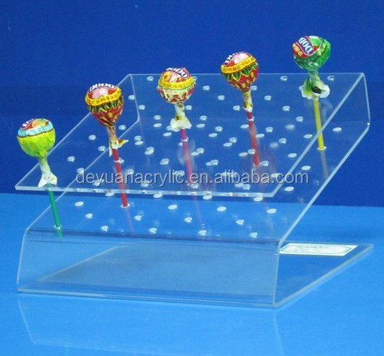 Plexiglass Acrylic Lollipop Display Stand Acrylic Cake Pop Display