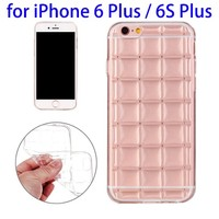 New Transparent Case for iPhone 6 Plus, Protective TPU Case for iPhone 6s Plus