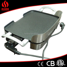 Die csting aluminum ceramic griddle pans