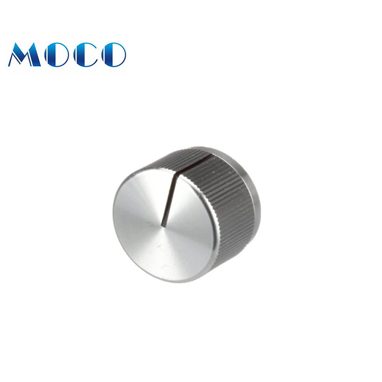 Different size and color of small stain steel oven temperature knob