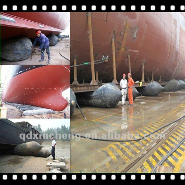 barge and Tug Rubber pneumatic Airbag xinxheng made