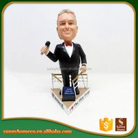 Custom Talking Doll Resin Bobble Head Crafts