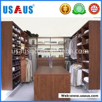 melamine MDF cheap factory price bedroom wardrobes cloakroom