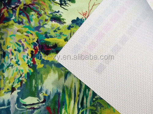 Polyester Canvas Matt Waterproof Premium 260gsm 600d*300d Digital printing