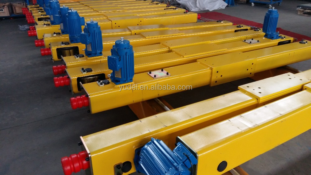 end carriage for overhead crane with drive motor 10ton22.5m