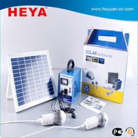 DC to AC inverter portable solar lighting system 12v solar powered generator