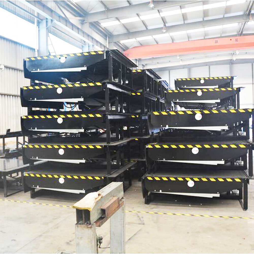 Optional safety device automatic stable operation hydraulic dock leveler for sale