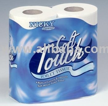 Toilet Rolls Nicky *Soft Touch* 2ply 10 x 4pk