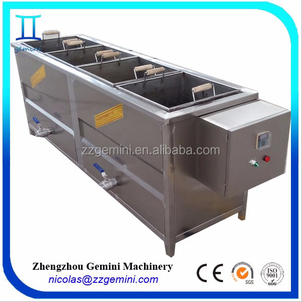 2017 newest fully stainless steel 30-50kg/h semi-automatic mini potato chips machine