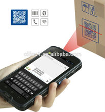 pda mobile Rugged android phone with 1d 2d laser scanner and NFC reader pda with android os